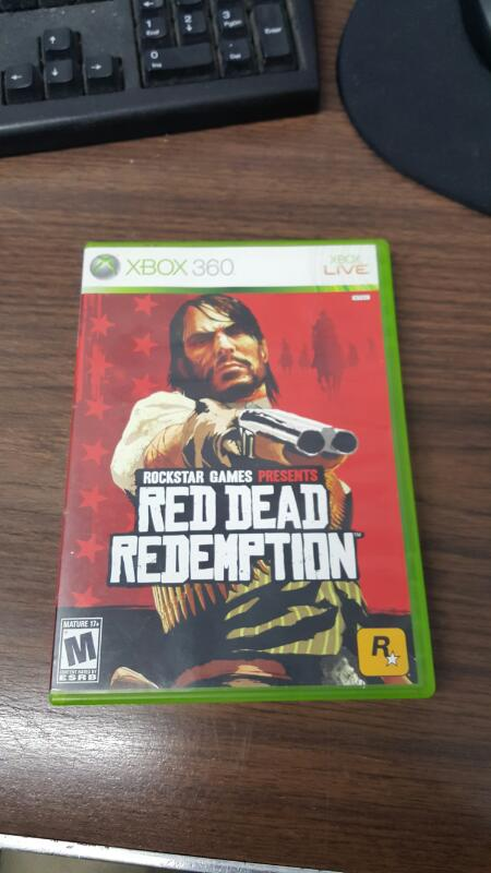 Red Dead Redemption (Microsoft Xbox 360, 2010)