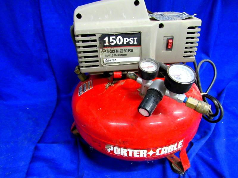 PORTER CABLE CFFN250B COMPRESSOR