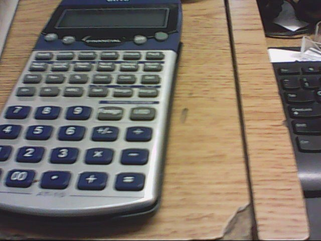 TEXAS INSTRUMENTS Calculator BA II PLUS