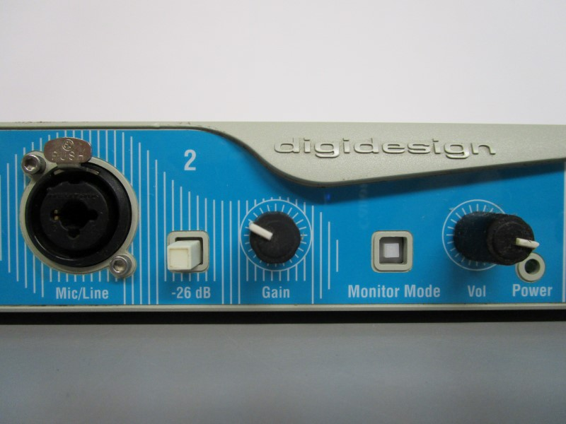DIGIDESIGN DIGI001 AUDIO INTERFACE, MX001 REV K