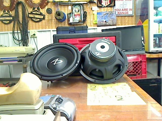 """AUDIO DYNAMICS Car Speakers/Speaker System 500 SERIES 12"""" SUB WOOLFER"""