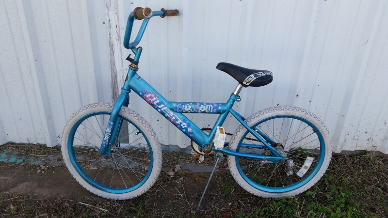 Quest Blossom Children's Bicycle - Light Blue