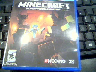 SONY Sony PlayStation 4 Game MINECRAFT - PS4