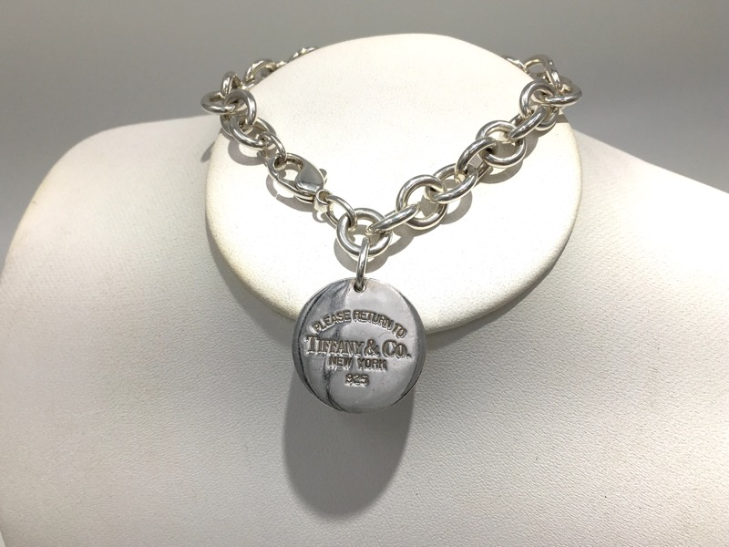 Tiffany & Co 925 Sterling Silver Return to TIffany Tag Bracelet