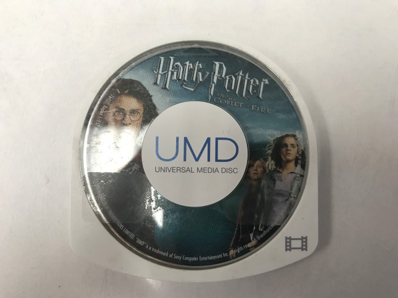SONY PSP UMD MOVIE HARRY POTTER: AND THE GOBLET OF FIRE