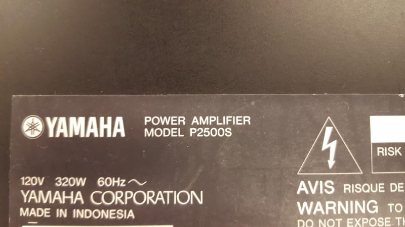 YAMAHA Electric Guitar Amp P2500S