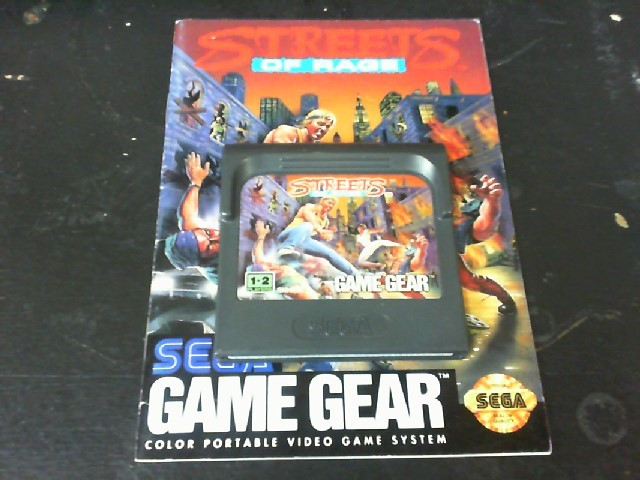 SEGA Sega Game STREETS OF RAGE