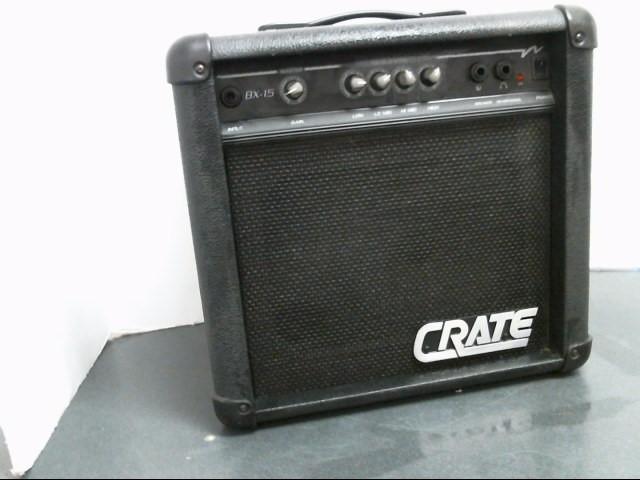CRATE AUDIO Bass Guitar Amp BX-15