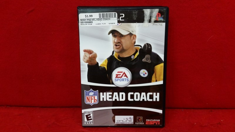 NFL Head Coach (Sony PlayStation 2, 2006)