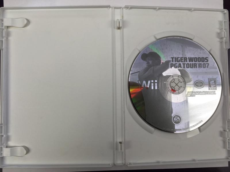 Tiger Woods: PGA Tour 07 - (Nintendo Wii, 2007)