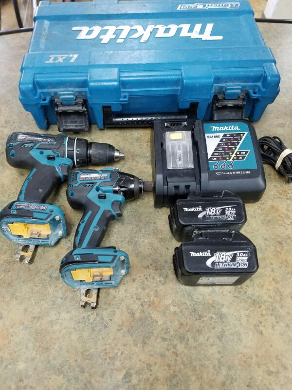MAKITA Combination Tool Set XPH06/XDT08 SET