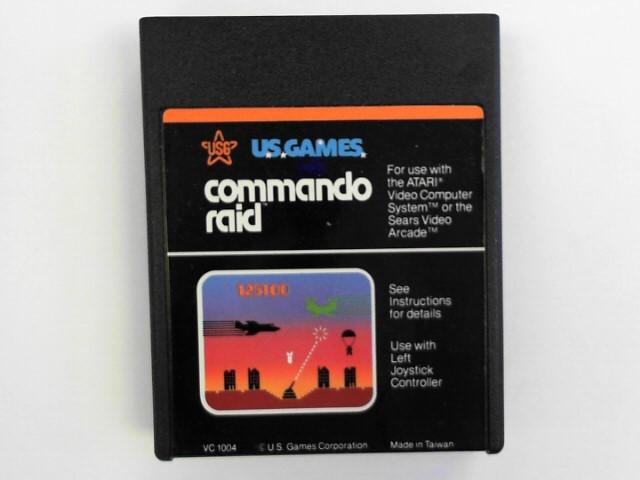 ATARI Game COMMANDO RAID
