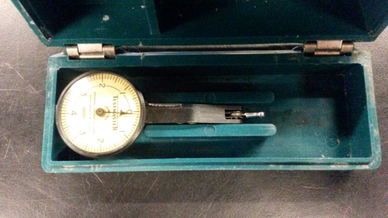 FEDERAL PRODUCTS CORP. Indicator TESTMASTER T-1