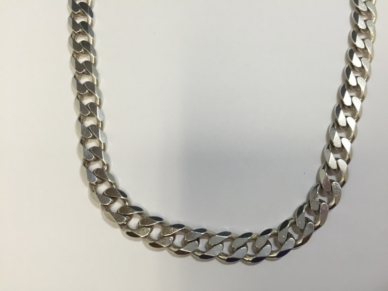 "24"" Silver Chain 925 Silver 121.3g"