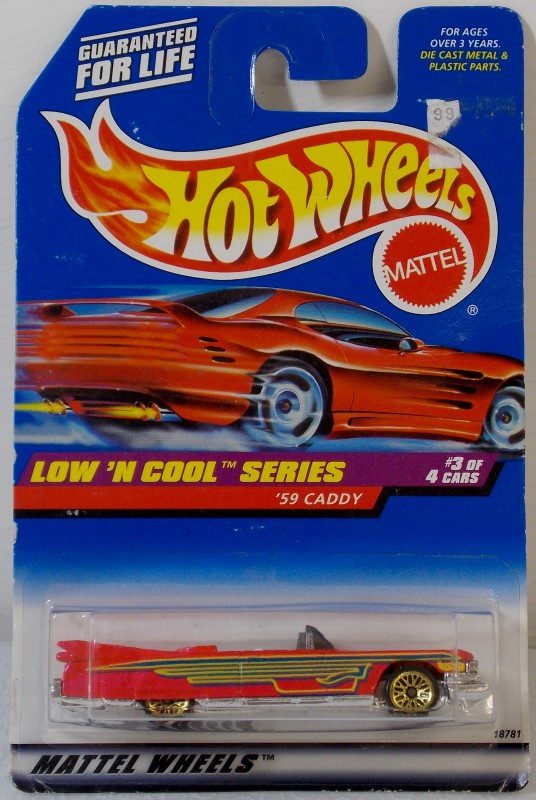 HOT WHEELS: LOW 'N COOL SERIES, COMPLETE SET
