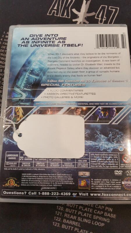 DVD BOX SET DVD STARGATE ATLANTIS SEASON 1