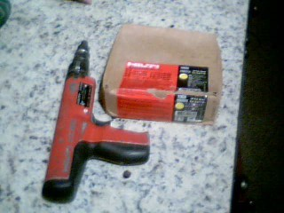 HILTI Nailer/Stapler DX 350 POWER ACTUATED FASTENER