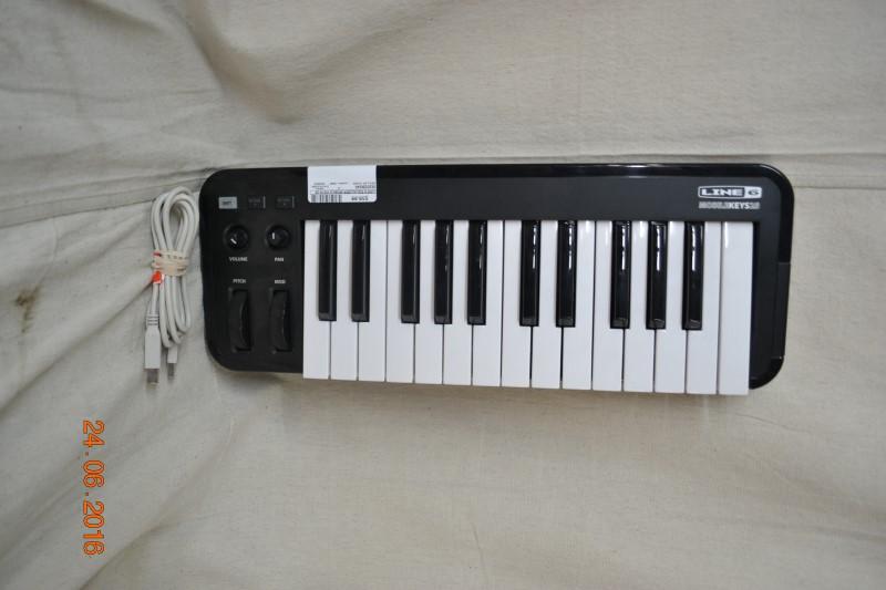 LINE 6 Equalizer MOBILE KEYS 25 MIDI