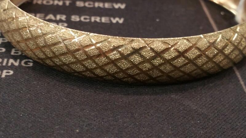 Gold Bracelet 10K Yellow Gold 4.3dwt
