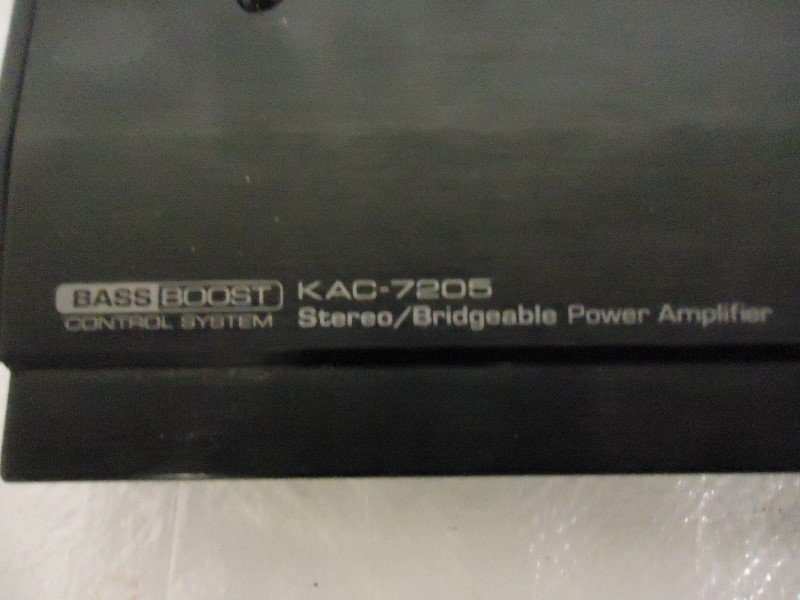 KENWOOD Car Amplifier KAC-7205