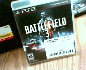 SONY Sony PlayStation 3 Game PS3 GAME BATTLEFIELD 3