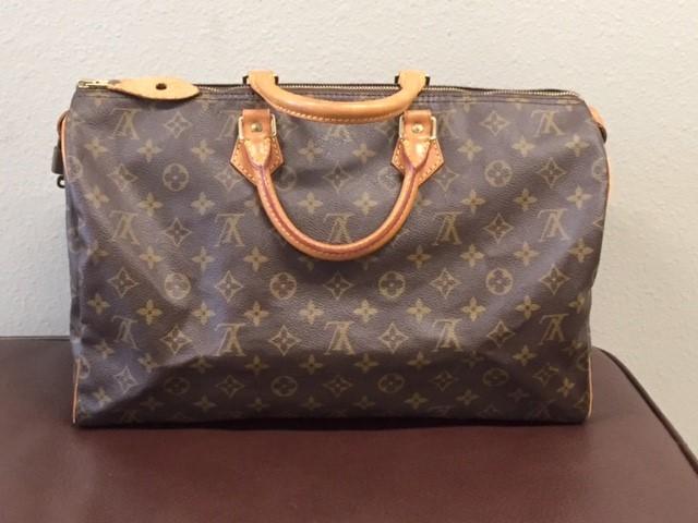 LOUIS VUITTON Handbag MONOGRAM SPEEDY 40 HANDBAG