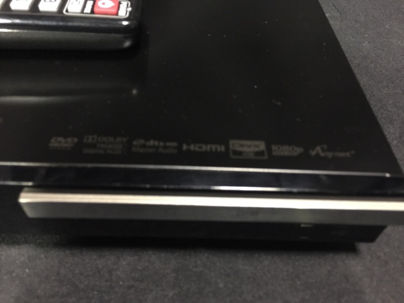 Samsung BD-D6500 3D Blu-Ray Disc Player Black Blu-Ray