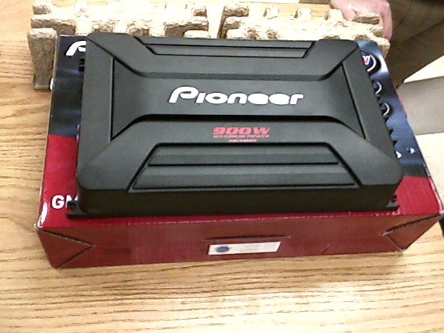 PIONEER ELECTRONICS Car Amplifier GM-A5602