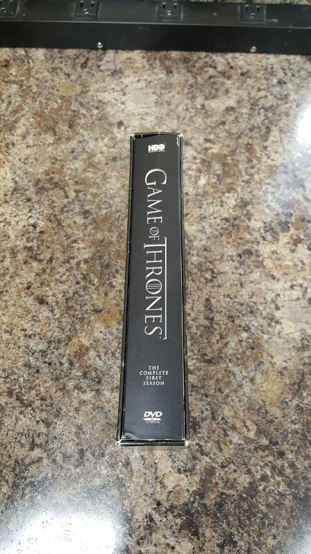 Game of Thrones: The Complete First Season 1 (DVD, 2012, 5-Disc Set)
