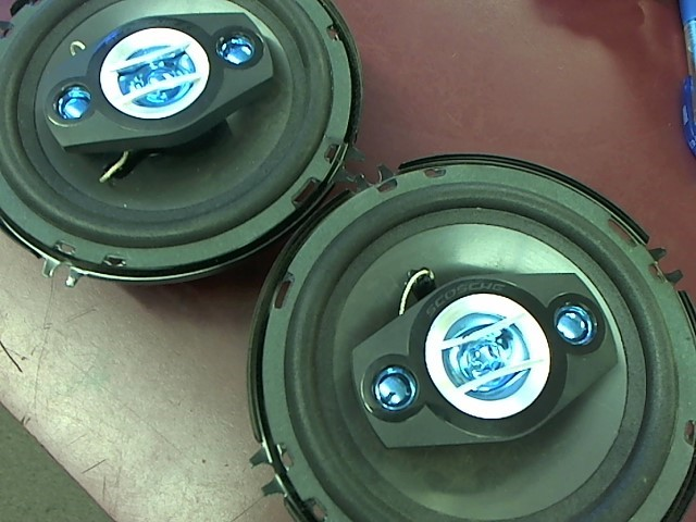SCOSCHE Car Speakers/Speaker System 6 1/2 6 3/4 CAR SPEAKERS SET 250 WATTS
