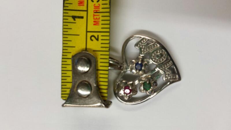 Silver Pendant 925 Silver 1.28dwt
