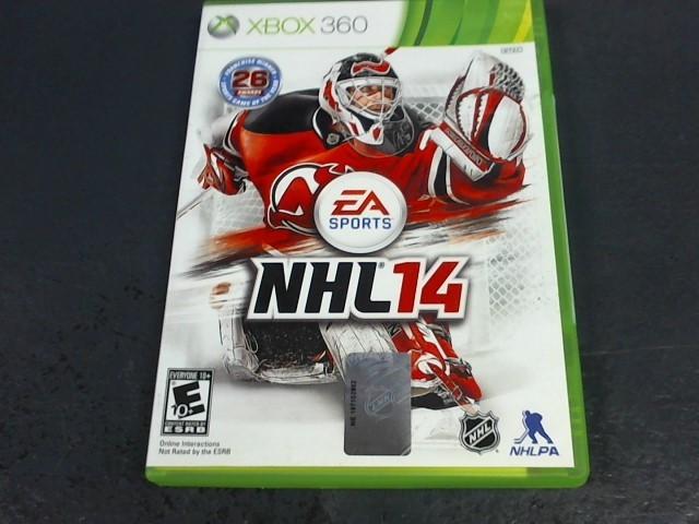 MICROSOFT Microsoft XBOX 360 Game NHL 14