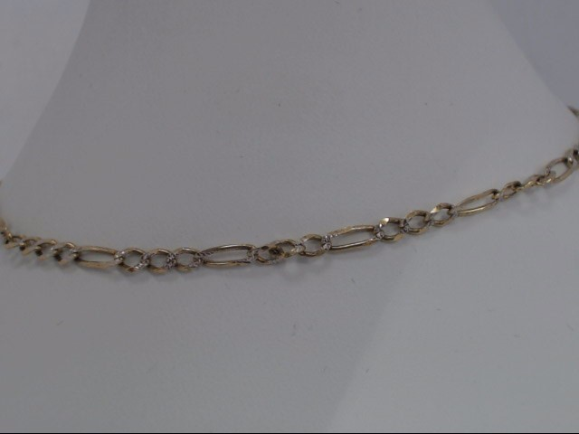 Gold Figaro Chain 10K Yellow Gold 4.7g