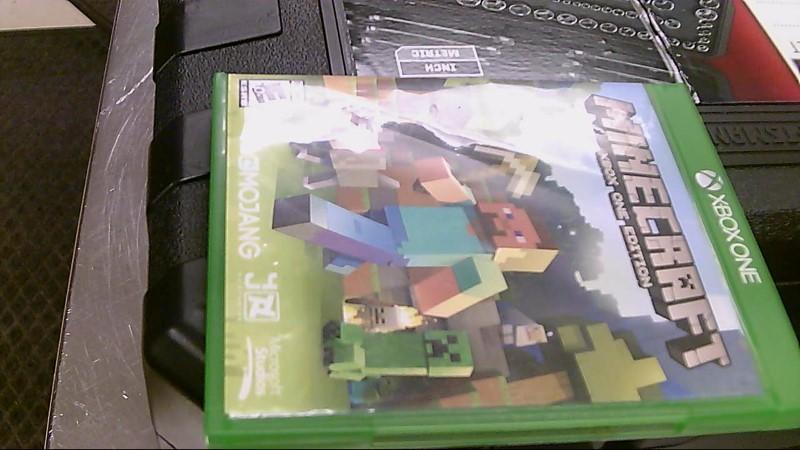 XBOX ONE GAME MINECRAFT