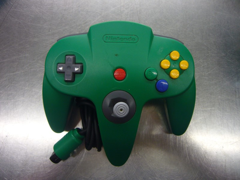NINTENDO Video Game Accessory NUS005 N64 CONTROLLER