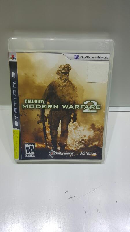 SONY PS3 CALL OF DUTY MODERN WARFARE 2