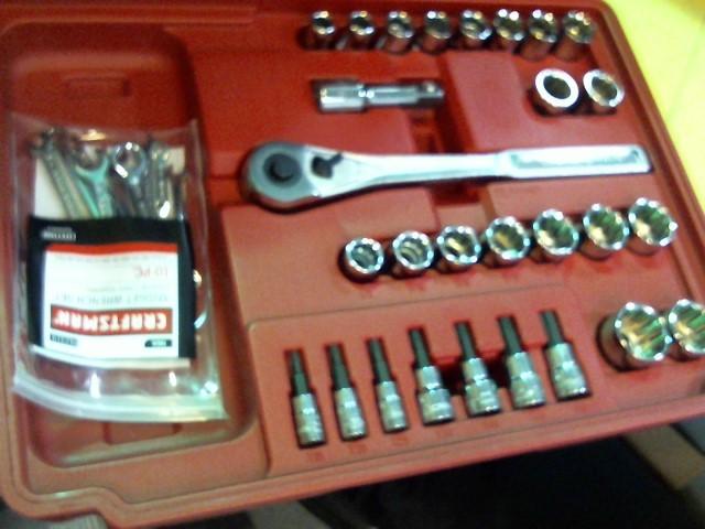 CRAFTSMAN Tool Box with Tools 263 PC MECHANICS TOOL SET