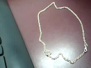 """18"""" Gold Link Chain 14K Yellow Gold 6.6g"""