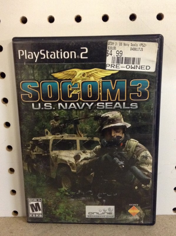 SONY Sony PlayStation 2 Game SOCOM 3