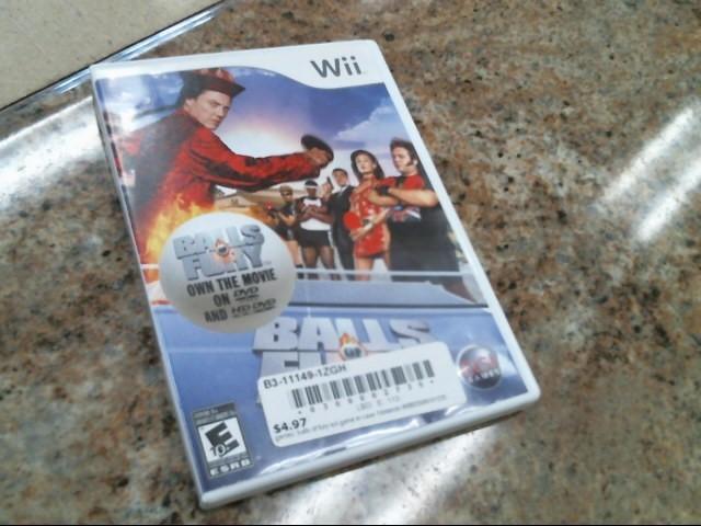 NINTENDO Nintendo Wii Game BALLS OF FURY