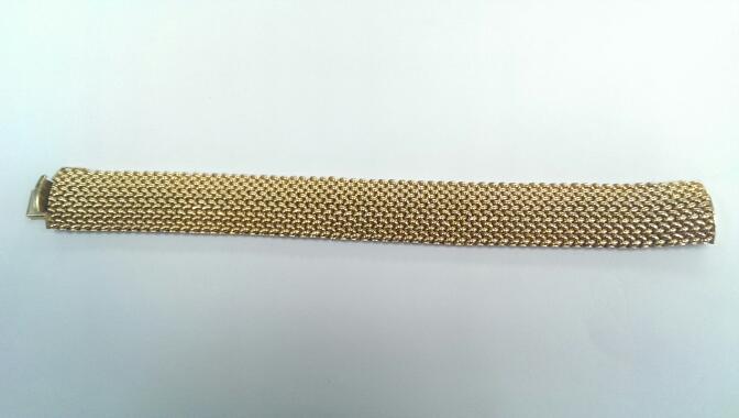 Gold Fashion Bracelet 14K Yellow Gold 39.8g