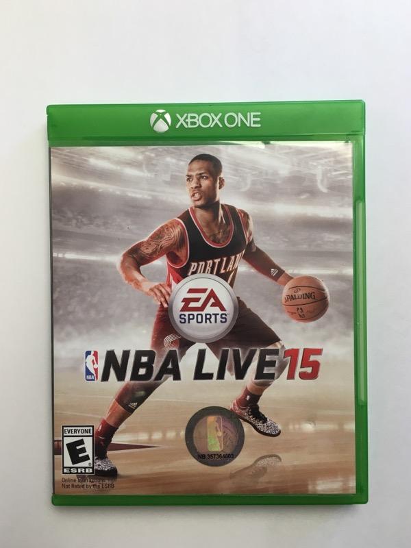 NBA Live 15 - (Microsoft Xbox ONE, 2014)