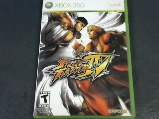 MICROSOFT Microsoft XBOX 360 Game STREET FIGHTER IV