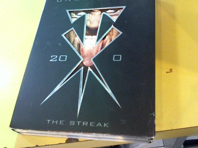 DVD BOX SET DVD UNDERTAKER THE STREAK