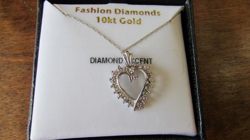 Gold Fashion Chain 10K White Gold 1.9g
