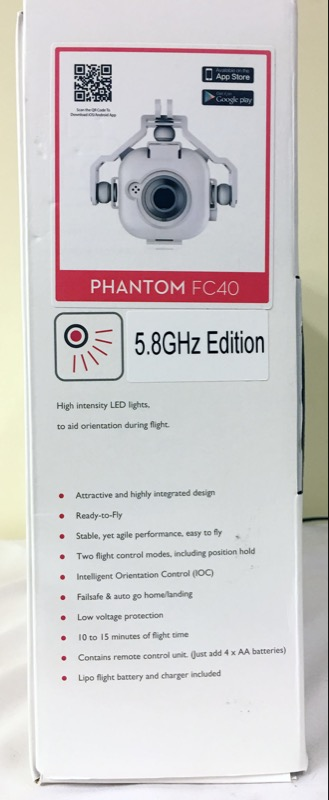 DJI Phantom P330D v2.0.0 (1st Generation) w/ Box, 2 Sets of Blades, Camera, More