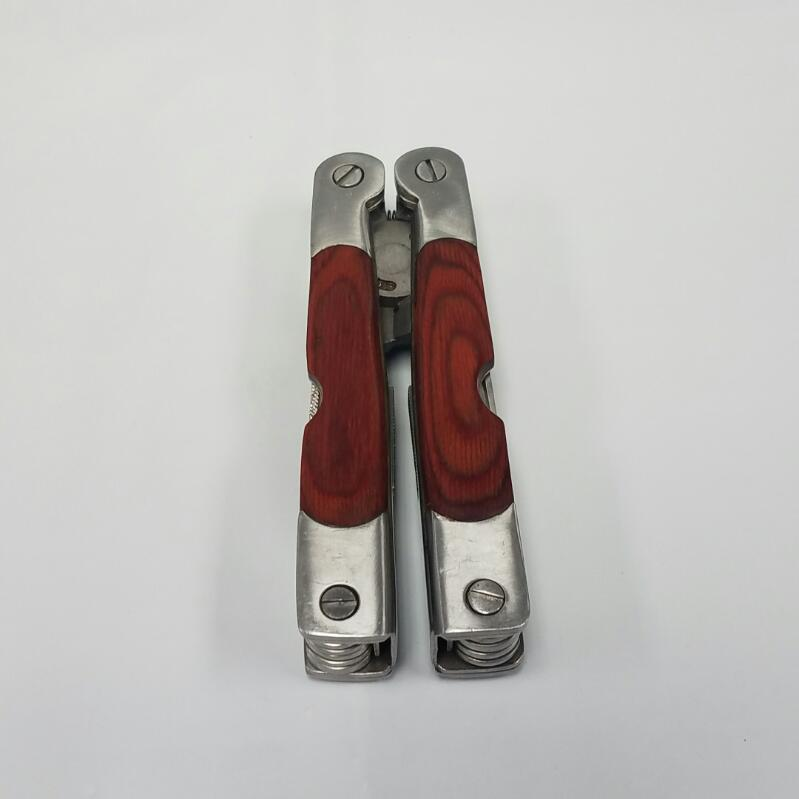 Winchester 10-in-1 Wood Handled Stainless Steel Multi-Tool