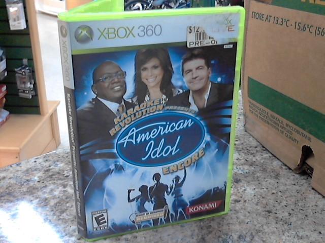MICROSOFT Microsoft XBOX 360 Game KARAOKE REVOLUTION:AMERICAN IDOL ENCORE