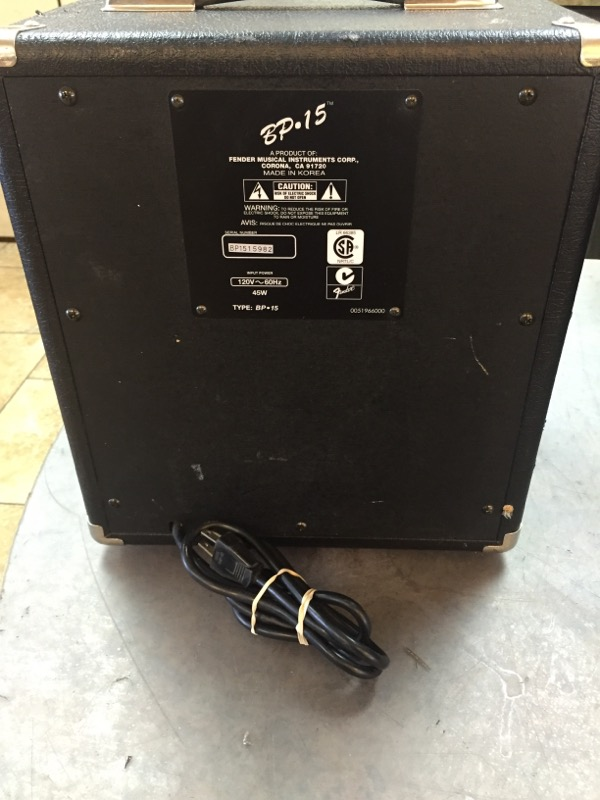 FENDER Bass Guitar Amp SQUIER BP-15