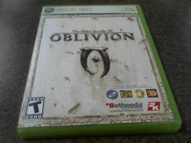 MICROSOFT Microsoft XBOX 360 Game THE ELDERS SCROLLS IV OBLIVION